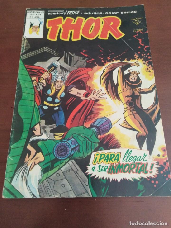 THOR DE MUNDI COMICS VOLUMEN 2 NÚMERO 50. 42 PÁGINAS. (Tebeos y Comics - Vértice - Thor)