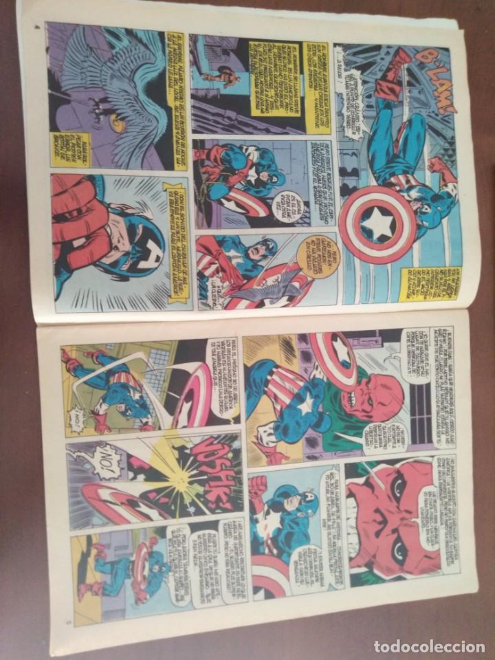 Cómics: COMIC EL CAPITAN AMERICA DE MUNDI COMICS VOLUMEN 3 NÚMERO 43. COMICS VÉRTICE ADULTOS COLOR SERIES. - Foto 3 - 146219018