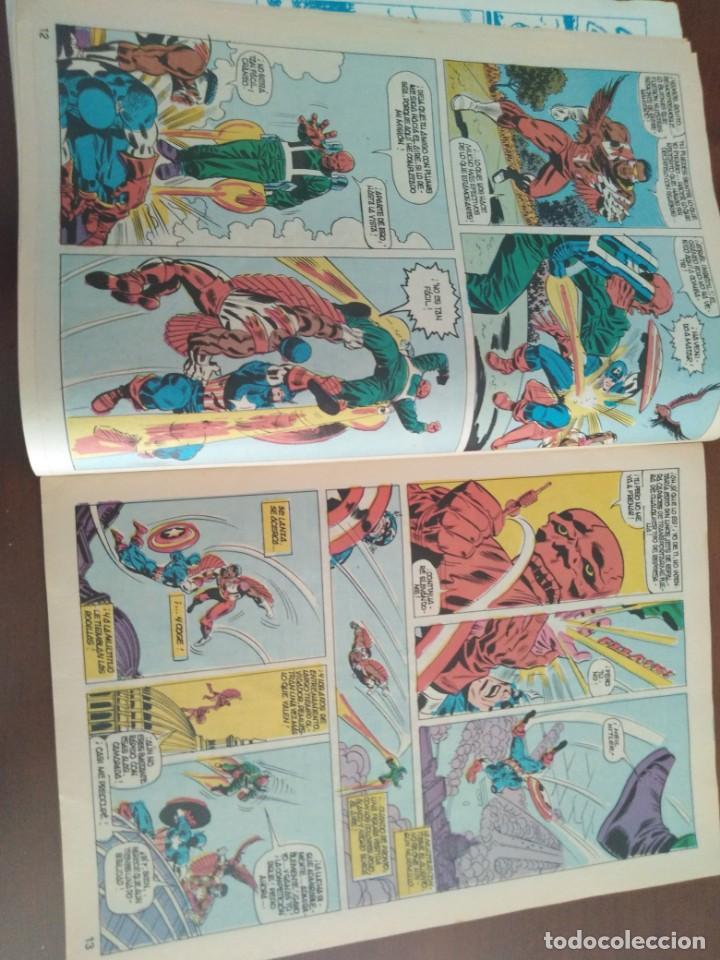 Cómics: COMIC EL CAPITAN AMERICA DE MUNDI COMICS VOLUMEN 3 NÚMERO 43. COMICS VÉRTICE ADULTOS COLOR SERIES. - Foto 7 - 146219018