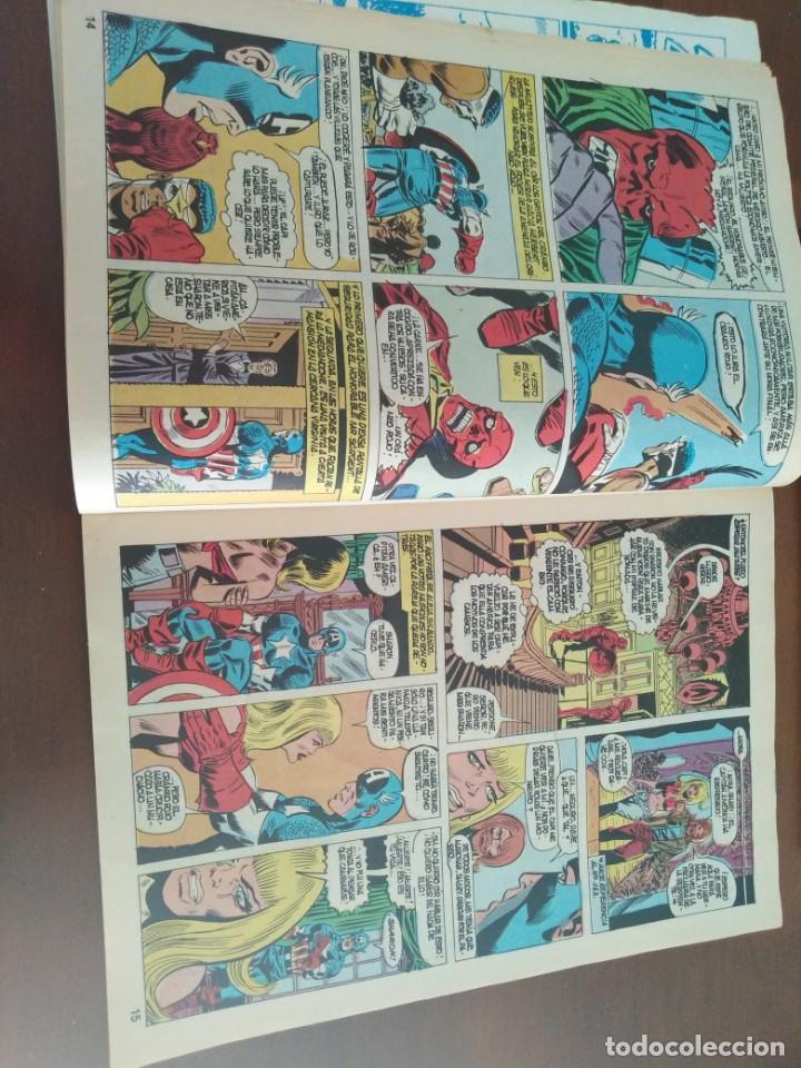 Cómics: COMIC EL CAPITAN AMERICA DE MUNDI COMICS VOLUMEN 3 NÚMERO 43. COMICS VÉRTICE ADULTOS COLOR SERIES. - Foto 8 - 146219018