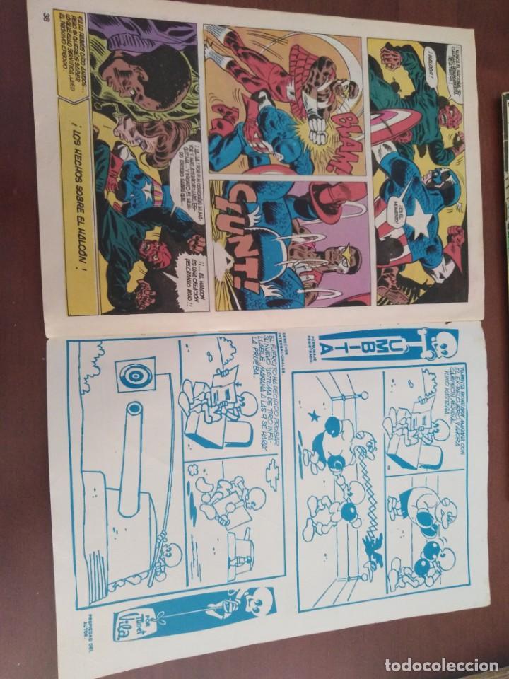 Cómics: COMIC EL CAPITAN AMERICA DE MUNDI COMICS VOLUMEN 3 NÚMERO 43. COMICS VÉRTICE ADULTOS COLOR SERIES. - Foto 9 - 146219018