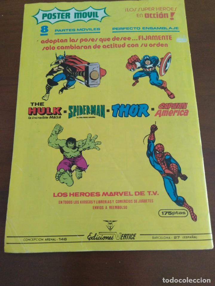 Cómics: COMIC EL CAPITAN AMERICA DE MUNDI COMICS VOLUMEN 3 NÚMERO 43. COMICS VÉRTICE ADULTOS COLOR SERIES. - Foto 10 - 146219018
