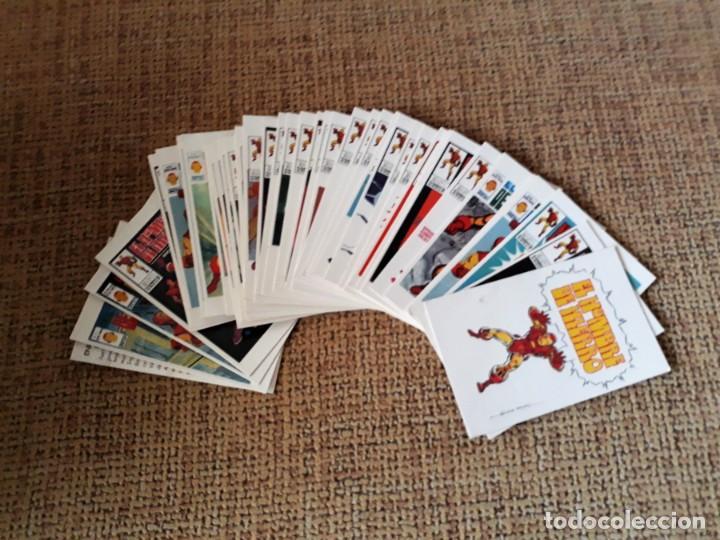 Cómics: EL HOMBRE DE HIERRO - PORTADAS DE VÉRTICE EN 40 TARJETAS (TRADING CARDS) - TEBEO VIVO - Foto 2 - 146350342