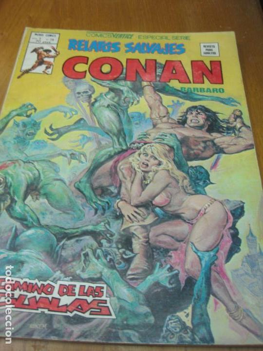 RELATOS SALVAJES CONAN. VOL 1 Nº 78. MUNDI COMICS. VERTICE. (Tebeos y Comics - Vértice - V.1)