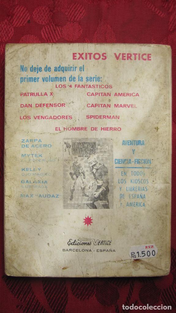 Cómics: VERTICE:DAN DEFENSOR,NAMOR,ESTELA PLATEADA,CORONEL FURIA,CAPITAN MARVEL,LA MASA.NUMEROS 1 - Foto 14 - 146414034