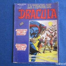 Cómics: ESCALOFRIO PRESENTA: LA TUMBA DE DRACULA - VOL. 2 N.º 2 - VERTICE 1981 MUNDI COMICS. Lote 146496510