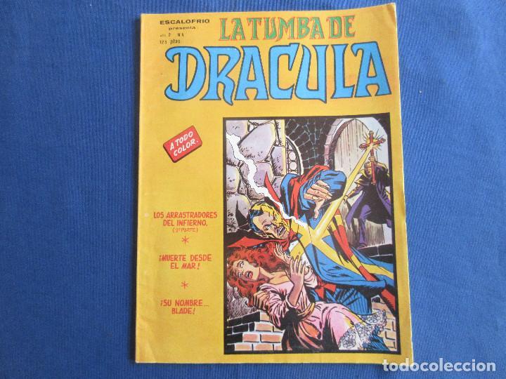 ESCALOFRIO PRESENTA: LA TUMBA DE DRACULA - VOL. 2 N.º 4 - VERTICE 1981 MUNDI COMICS (Tebeos y Comics - Vértice - Terror)