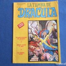 Cómics: ESCALOFRIO PRESENTA: LA TUMBA DE DRACULA - VOL. 2 N.º 4 - VERTICE 1981 MUNDI COMICS. Lote 146496922