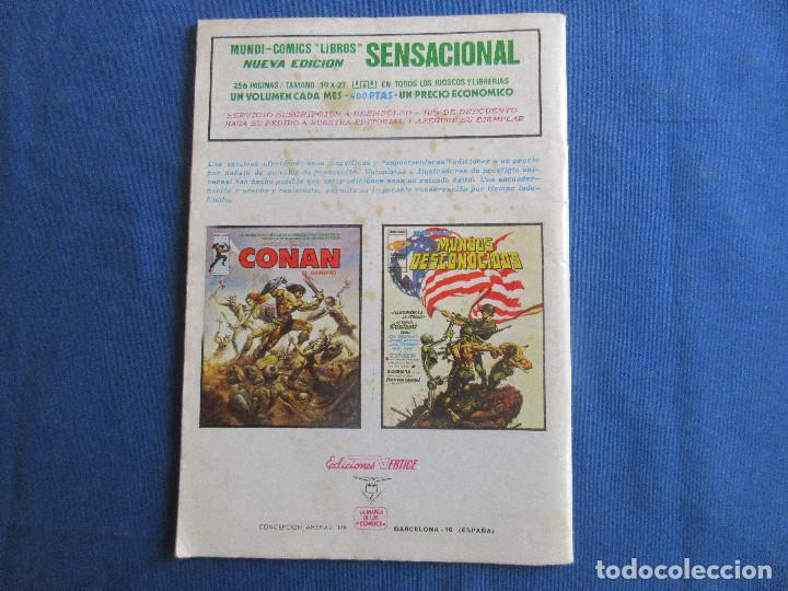 Cómics: SPIDERMAN EL HOMBRE ARAÑA VOL. 3 N.º 37 - VERTICE 1978 MUNDI COMICS - Foto 3 - 146499814