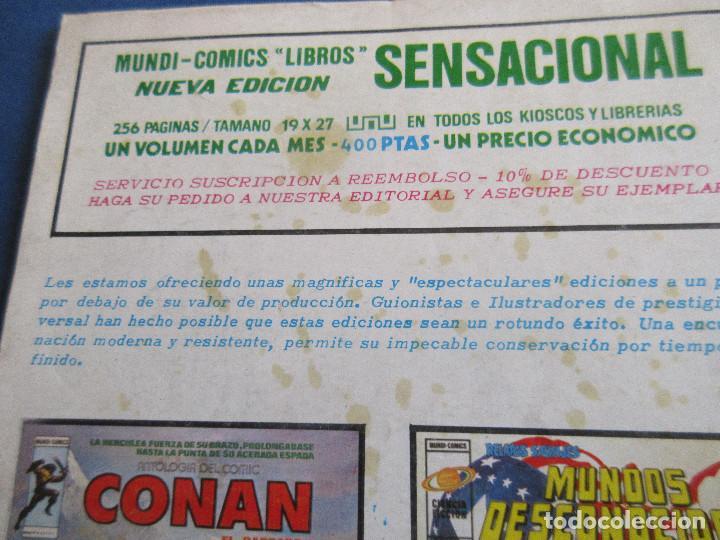 Cómics: SPIDERMAN EL HOMBRE ARAÑA VOL. 3 N.º 37 - VERTICE 1978 MUNDI COMICS - Foto 4 - 146499814