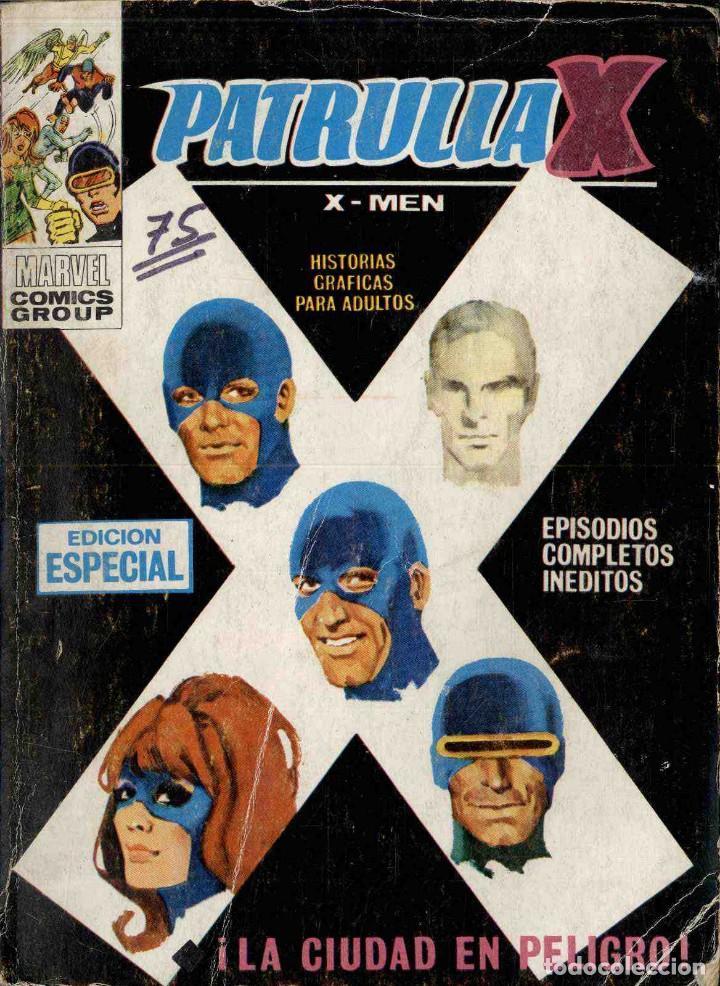 PATRULLA X Nº 10 LA CIUDAD EN PELIGRO (Tebeos y Comics - Vértice - Patrulla X)