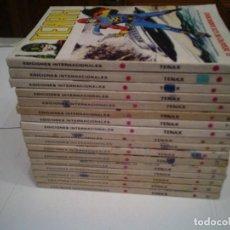 Cómics: TENAX - VERTICE - VOLUMEN 1 -COMPLETA - 17 NUMEROS - BUEN ESTADO - GORBAUD. Lote 146608494