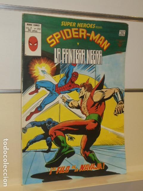 SUPER HEROES PRESENTA VOL. 2 Nº 123 SPIDER-MAN Y LA PANTERA NEGRA - VERTICE (Tebeos y Comics - Vértice - Super Héroes)