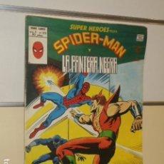 Cómics: SUPER HEROES PRESENTA VOL. 2 Nº 123 SPIDER-MAN Y LA PANTERA NEGRA - VERTICE . Lote 146666082