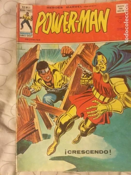 POWERMAN 10 COMICS (Tebeos y Comics - Vértice - Otros)