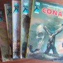 Cómics: COLECCION COMPLETA DE CONAN ANTOLOGÍA DEL COMIC VOLUMEN 1 DE VERTICE 5 TOMOS. Lote 146769082