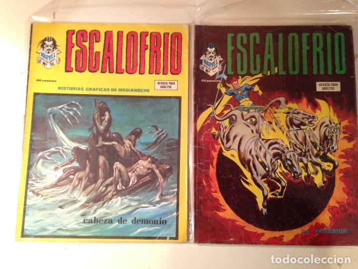 Comics: Escalofrío Lote 14 ejemplares - Foto 2 - 146789866