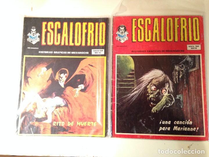 Comics: Escalofrío Lote 14 ejemplares - Foto 3 - 146789866