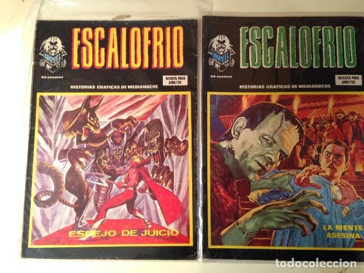 Comics: Escalofrío Lote 14 ejemplares - Foto 4 - 146789866