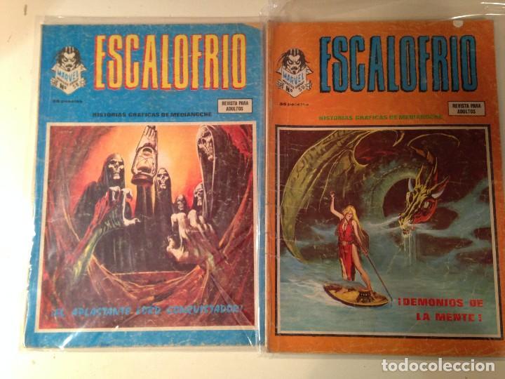 Comics: Escalofrío Lote 14 ejemplares - Foto 5 - 146789866