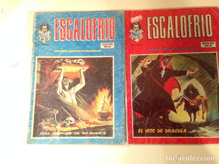 Comics: Escalofrío Lote 14 ejemplares - Foto 6 - 146789866