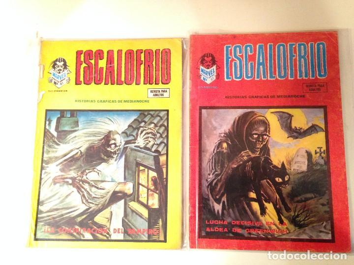 Comics: Escalofrío Lote 14 ejemplares - Foto 7 - 146789866
