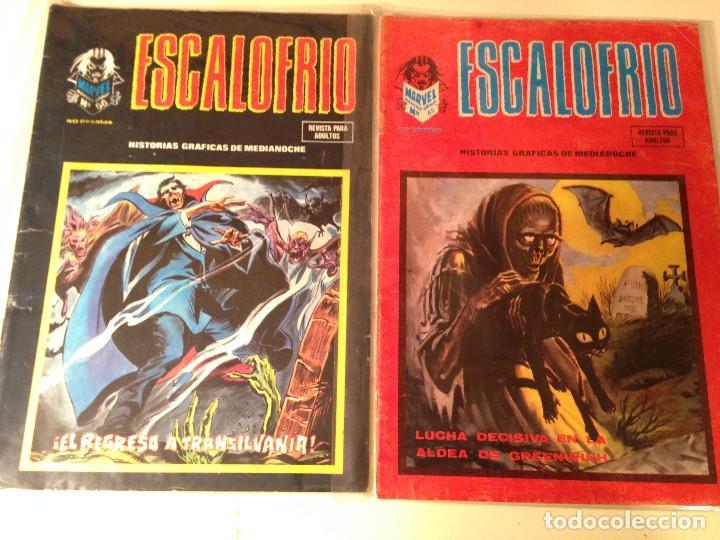 Comics: Escalofrío Lote 14 ejemplares - Foto 8 - 146789866