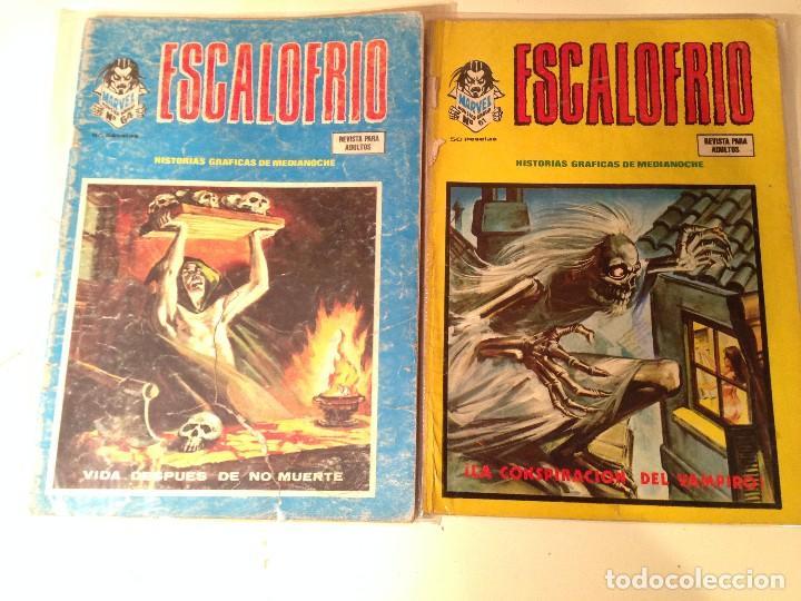 Comics: Escalofrío Lote 14 ejemplares - Foto 9 - 146789866