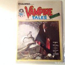 Cómics: VAMPIRE TALES 1, 20, 42. Lote 146790998