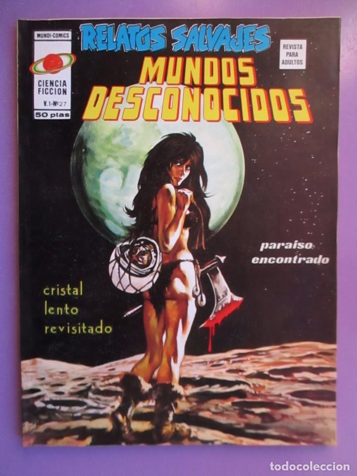 RELATOS SALVAJES Nº 27 VERTICE VOLUMEN 1 ¡¡¡¡¡¡¡ EXCELENTE ESTADO Y DIFCIL !!!!! (Tebeos y Comics - Vértice - V.1)