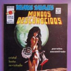 Cómics: RELATOS SALVAJES Nº 27 VERTICE VOLUMEN 1 ¡¡¡¡¡¡¡ EXCELENTE ESTADO Y DIFICIL !!!!!. Lote 146796370