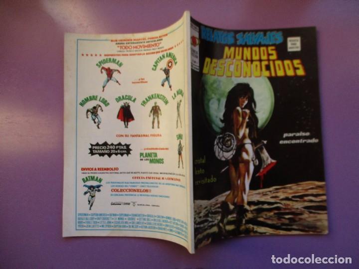 Cómics: RELATOS SALVAJES Nº 27 VERTICE VOLUMEN 1 ¡¡¡¡¡¡¡ EXCELENTE ESTADO Y DIFCIL !!!!! - Foto 3 - 146796370