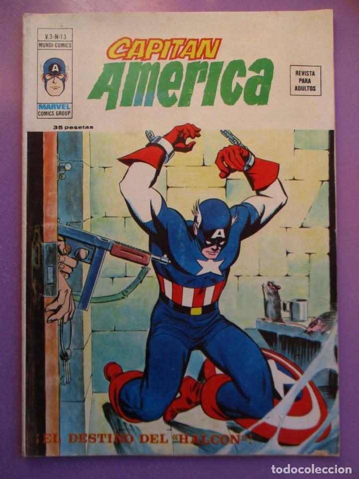 CAPITAN AMERICA Nº 13 VERTICEVOLUMEN 3 ¡¡¡¡¡¡¡ BUEN ESTADO !!!!! (Tebeos y Comics - Vértice - V.1)
