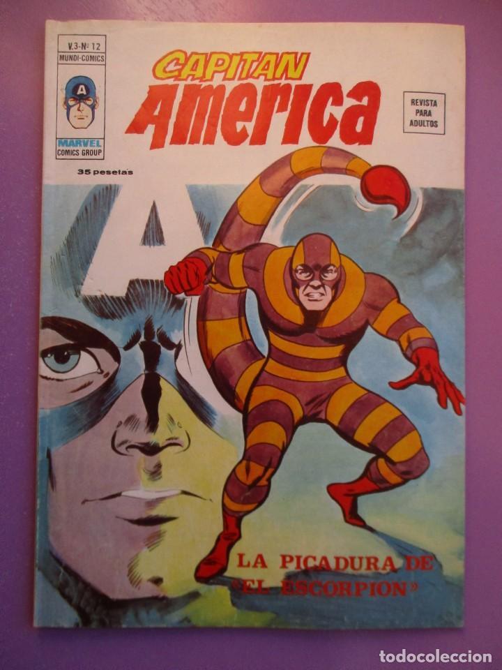 CAPITAN AMERICA Nº 12 VERTICEVOLUMEN 3 ¡¡¡¡¡¡¡MUY BUEN ESTADO !!!!! (Tebeos y Comics - Vértice - V.1)