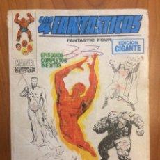 Cómics: LOS 4 FANTÁSTICOS - EDICIÓN GIGANTE N2 320PGS - VÉRTICE TACO - 1972. Lote 146917726