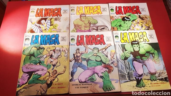 SUELTOS PREGUNTAR COLECCION COMPLETA LA MASA VERTICE VOL II (Tebeos y Comics - Vértice - La Masa)