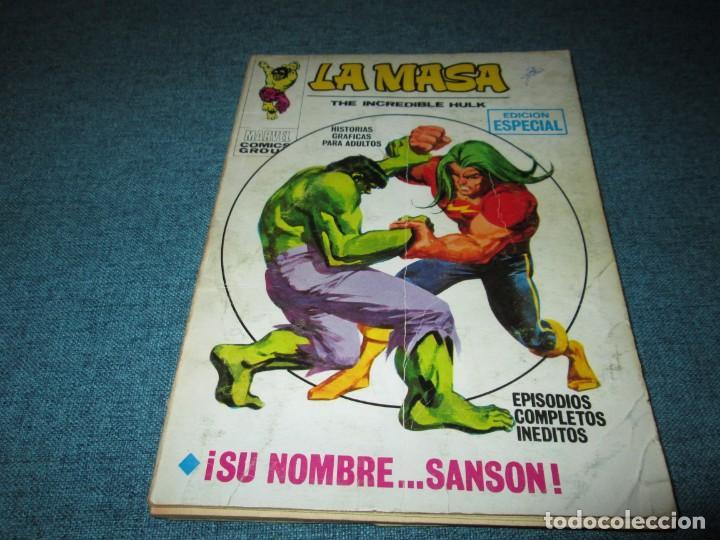 VERTICE ~ LA MASA ~ VOL 1 Nº 19 (Tebeos y Comics - Vértice - La Masa)