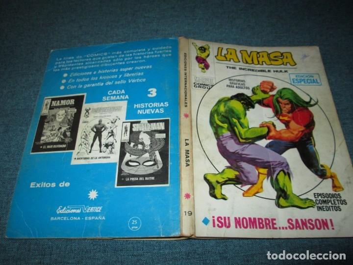 Cómics: VERTICE ~ LA MASA ~ VOL 1 Nº 19 - Foto 2 - 147459162