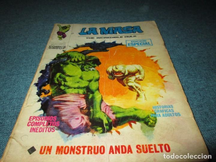 VERTICE ~ LA MASA ~ VOL 1 Nº 2 (Tebeos y Comics - Vértice - La Masa)