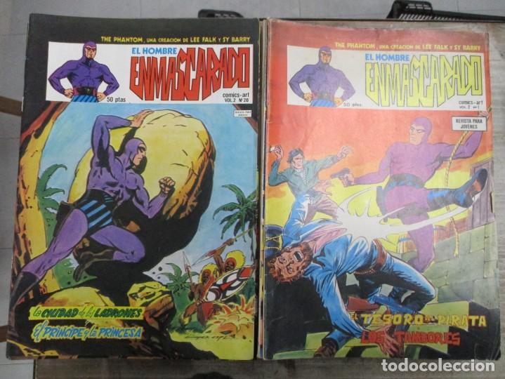COLECCION COMPLETA EL HOMBRE ENMASCARADO - 43 NUMEROS - V 2 - VOL 2 VERTICE - 1980 (Tebeos y Comics - Vértice - Hombre Enmascarado)