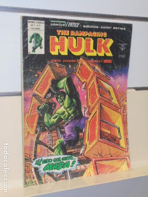 Cómics: THE RAMPAGING HULK VERTICE VOL. 1 Nº 11 - Foto 1 - 147567638