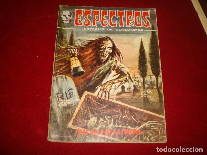 ESPECTRO Nº 12 EDITORIAL VERTICE 1º EDICION 1972 (Tebeos y Comics - Vértice - Terror)