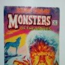 Cómics: RELATOS SALVAJES - MONSTERS OF THE MOVIES (V.1, Nº 9) EL MISTERIO UNIVERSAL DEL HOMBRE LOBO. Lote 147625322