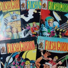Cómics: LOTE DE 5 NÚMEROS DE FLASH GORDON, VOL. 2 (NºS: 17, 26, 28, 29, 37) - EDITORIAL VÉRTICE -. Lote 147676974