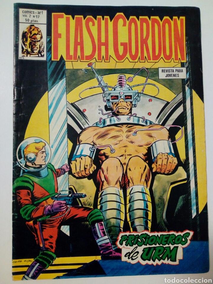 Cómics: LOTE DE 5 números de FLASH GORDON, Vol. 2 (nºs: 17, 26, 28, 29, 37) - Editorial Vértice - - Foto 2 - 147676974