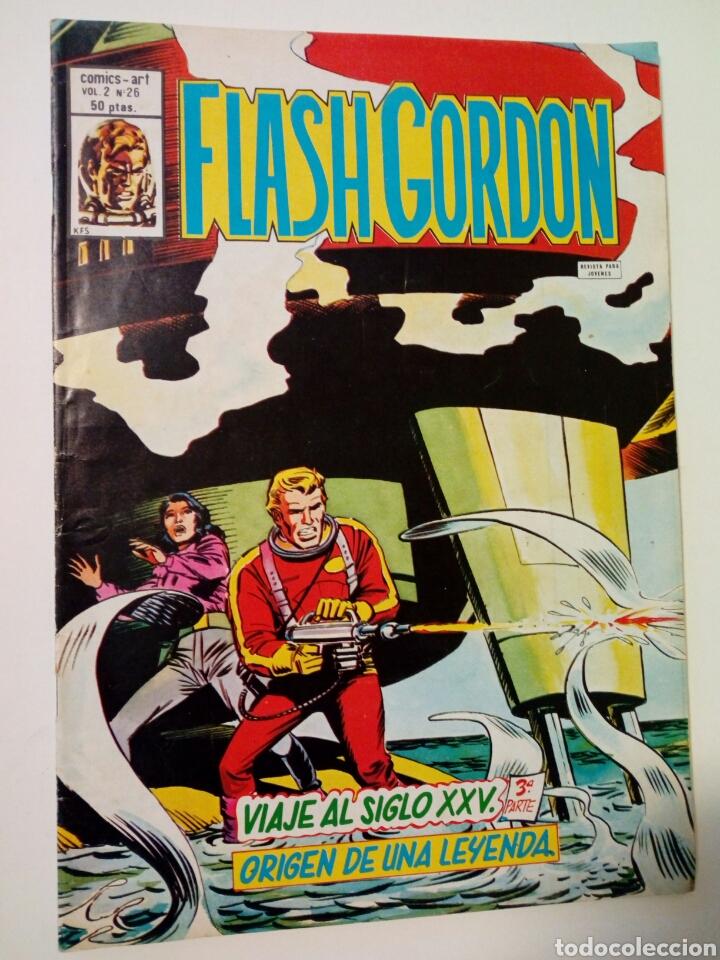 Cómics: LOTE DE 5 números de FLASH GORDON, Vol. 2 (nºs: 17, 26, 28, 29, 37) - Editorial Vértice - - Foto 3 - 147676974