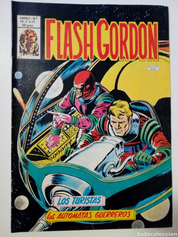 Cómics: LOTE DE 5 números de FLASH GORDON, Vol. 2 (nºs: 17, 26, 28, 29, 37) - Editorial Vértice - - Foto 5 - 147676974