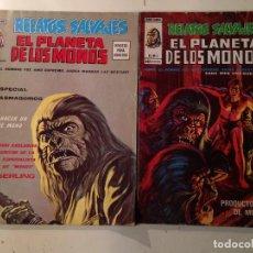 Cómics: RELATOS SALVAJES EL PLANETA DE LOS MONOS LOTE 7 EJEMPLARES. Lote 147684594