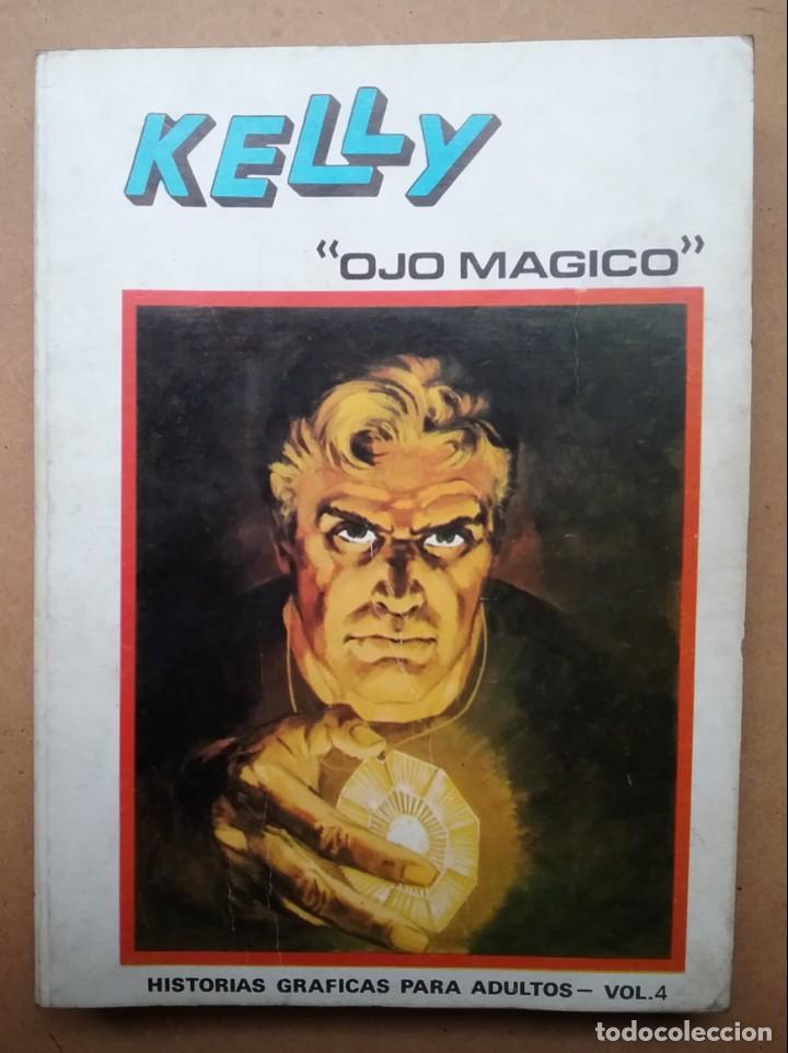 TEBEO EDICIONES VÉRTICE KELLY OJO MÁGICO EDICION ESPECIAL VOL. 4 TACO PULP (Tebeos y Comics - Vértice - Otros)