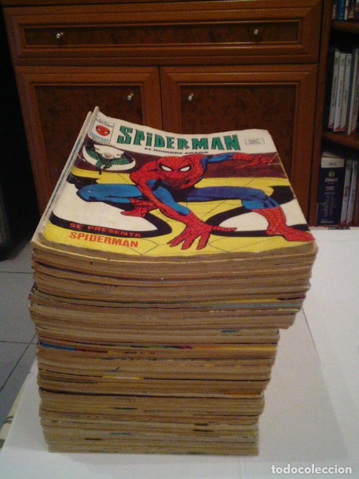SPIDERMAN - VOLUMEN 3 - VERTICE - COLECCION COMPLETA - BUEN ESTADO - 1 AL 67 - 76 COMICS - GORBAUD (Tebeos y Comics - Vértice - Otros)